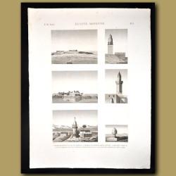 Egyptian minarets