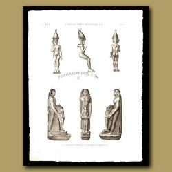 Figures in bronze