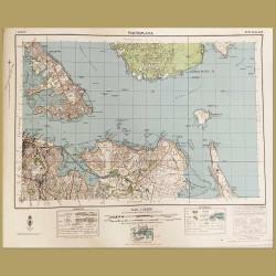 New Zealand: Map Of Auckland City, Devonport And Rangitoto Island