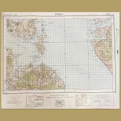 New Zealand: Map Of Waiheke Island And Coromandel Peninsula
