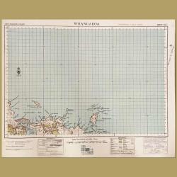 New Zealand: Map Of Whangaroa, Far North District