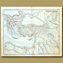 Map Of Turkish Empire