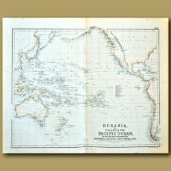 Oceania, Or Islands In The Pacific Ocean