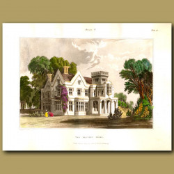 Rectory house set in parkland