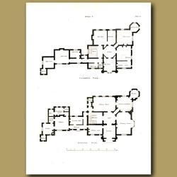 Gothic marine villa (floor plan)