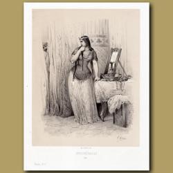 Brunehault or Brunhilda, Queen of the Frankish Kingdom of Austrasia