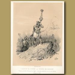 Scipio invading Spain (218)