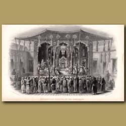 Mohammedan Festival of the Mohurrum