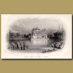Sacred Temple and Tank – Umritsir