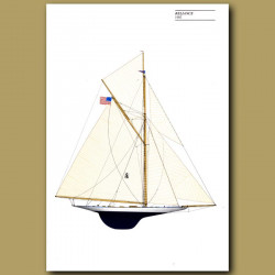 America's Cup yacht: Reliance 1903