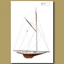 America's Cup yacht: Resolute 1920