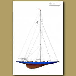 America's Cup yacht: Endeavour 1934