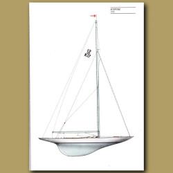 America's Cup yacht: Sceptre 1958