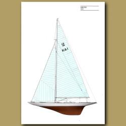 America's Cup yacht: Gretel 1962