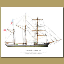 The Barquentine 'Waterwitch'