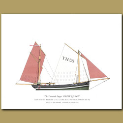 The Yarmouth Lugger 'Gypsy Queen'