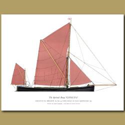 The Spritsail Barge 'Giralda'