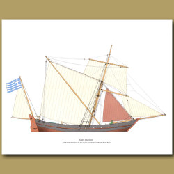 Greek Sacoleva Ship