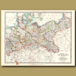 Empire Of Germany Northern Portion
