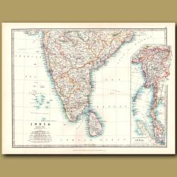 Southern India and Sri Lanka