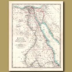 Egypt, Arabia Petraea And Lower Nubia