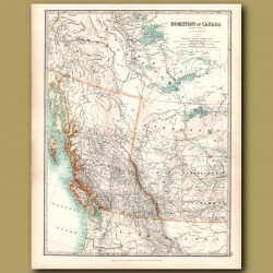 Dominion Of Canada - Western Sheet