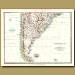 South America - Southern Sheet