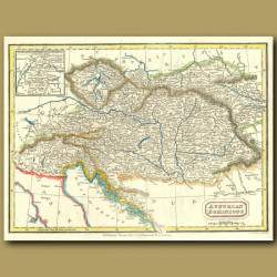 Map Of The Austrian Dominions