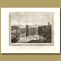 The Falls Of Niagra In Canada