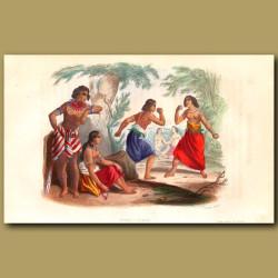 Women Fighting In Tonga