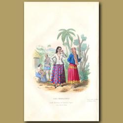 Women Of Mariana Islands In 1800s