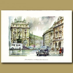 Piccadilly Circus and Regent Street Quadrant