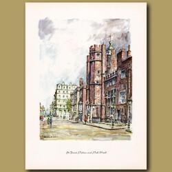 St James Palace and Pall Mall