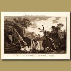 Waterfall At Tivoli
