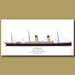 Oceanic: Ocean Liner Passenger Ship From 1899