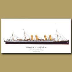 Kaiser Wilhelm II: Ocean Liner Passenger Ship From 1903