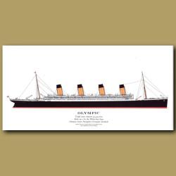 Olympic: Ocean Liner Passenger Ship From 1911