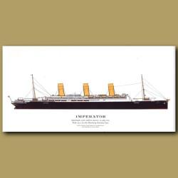 Imperator: Ocean Liner Passenger Ship From 1913