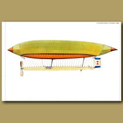 Airship: Renard-Krebs 'La France' 1884