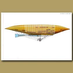 Airship: Lebaudy 'Le Jaune' 1902