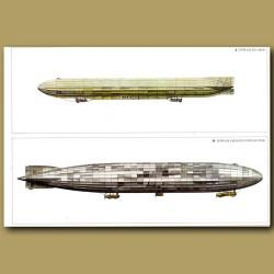 Airship: Zeppelin ZIX 1914 and Zeppelin L30 Super Zeppelin 1916