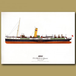 Paddle Steamer Medway Queen 1924