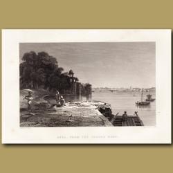 Agra from the Jamara Baug