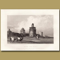 Ruins in Old Delhi