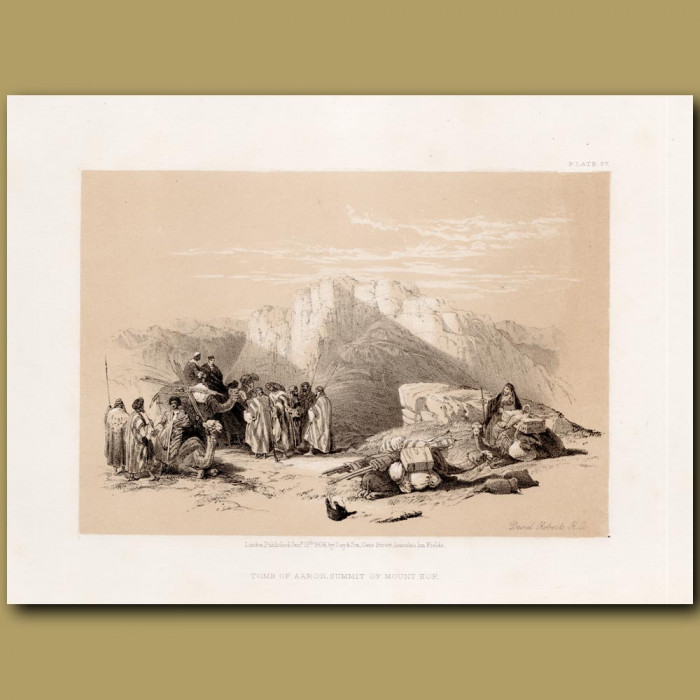 Tomb Of Aaron, Summit Of Mount Hor