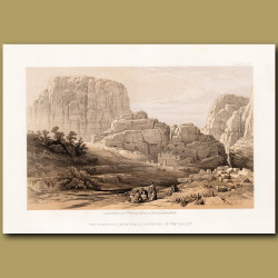 The Acropolis (Kusr Faron), Lower End Of The Valley, Petra
