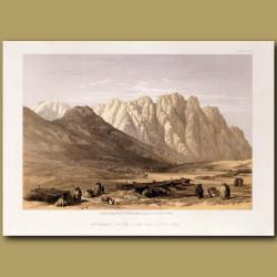 Encampment Of The Oulad-Said, Mount Sinai