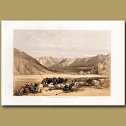 Approach To Mount Sinai