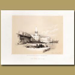Scene On The Quay Of Suez