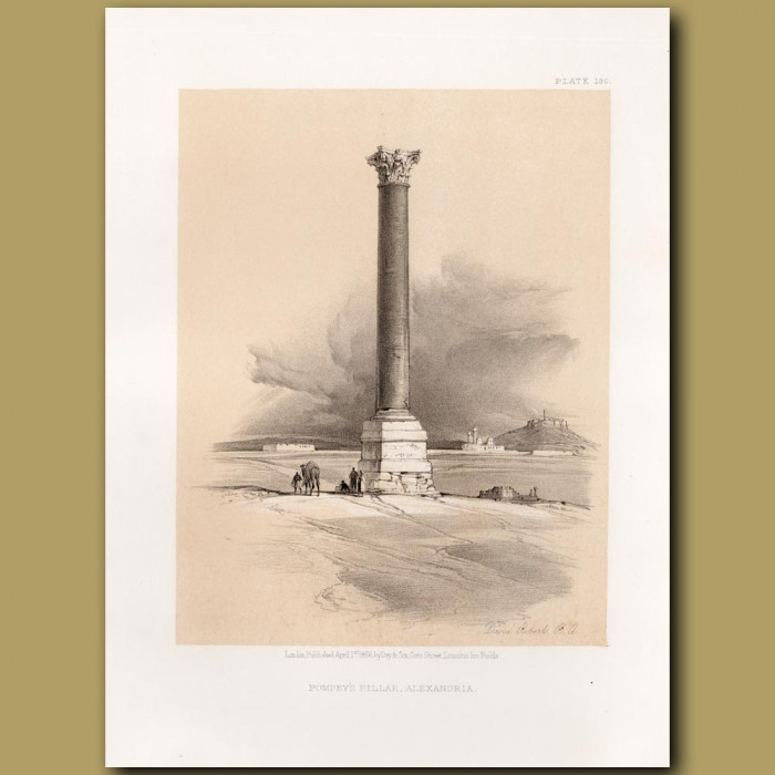 Pompey's Pillar, Alexandria.
